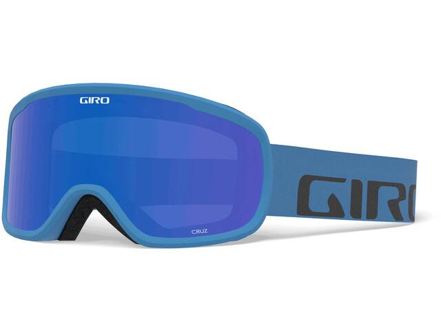 Giro Cruz Goggles, blue wordmark/grey cobalt